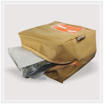 Verzendverpakking open rits